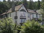 Windermere bed and breakfast lodge, England