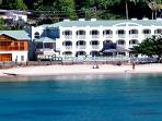 Beach resort in Grenada