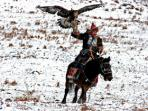 Golden Eagle Festival in Mongolia