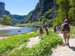 Ardeche walking holiday