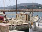 Leros Vintage yacht homestay in Greece