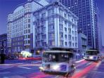 San Francisco city centre hotel, California, USA