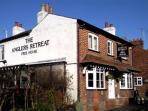 Chilterns pub with B&B nr Tring, England