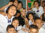 Teach children English in Thailand