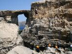 Gozo climbing and abseiling day tour, Malta