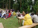 Community volunteering in Uganda