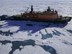 North Pole cruise in the Arctic