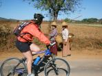 Burma cycling vacation