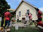 Community volunteering in Fiji