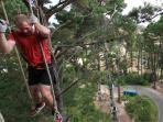 Adrenalin forest parks in New Zealand