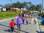 Child care volunteering in South Africa