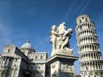 Pisa to Cinque Terre cycling holiday in Italy