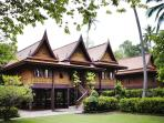 Sampran family eco bungalows nr Bangkok