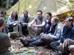 Bushcraft courses, Sussex, High Weald, England