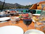 Gulet cruise in Turkey, gastronomy cruise