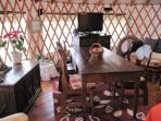 Peloponnese yurt holiday in Greece