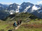 North Cascades hiking holiday, Washington State, USA