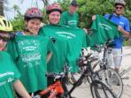 Charity cycle ride in Mexico