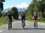 Mountain biking in Chile and Argentina