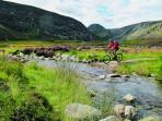 Cycling and mountain biking holidays in Scotland