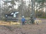 Cairngorms self guided cycling holiday, Scotland