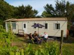 East Sussex Organic Vineyard Caravan, England