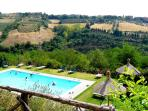Umbria self catering apartments near Perugia, Italy
