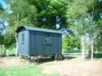 Surrey Hills Shepherd's Hut accommodation, England