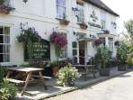 Historic Pub in Lilley, Chilterns, England