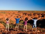 Australia adventure holiday, Ayers Rock to Darwin