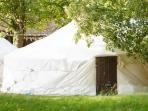 Jersey campsite & luxury yurt retreat, Channel Islands