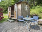 Lake District shepherds hut accommodation, England