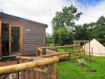 Eco self catering accommodation, Wales