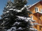 Skiing guesthouse in the Polish Carpathians