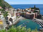 Italy walking holiday, Cinque Terre
