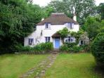 Somerset holiday cottage in the Quantock Hills, England