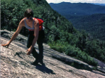 Adirondacks basic mountaineering tour, New York State, USA