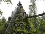Unusual eco lodge in a biological reserve, Chile