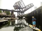 Stand up paddleboard tours in Seattle, Washington State, USA