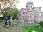 Greece cycling holiday, archaeology tour