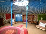 Pembrokeshire yurt accommodation, Wales