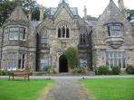 Llyn Valley self catering gothic mansion, Wales