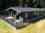 Self catering woodland lodges in the Cairngorms, Scotland