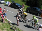 The Etape du Tour cycling race in France
