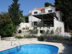 Villa on Brac Island, Croatia