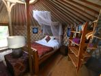 Central Portugal off grid yurt holiday