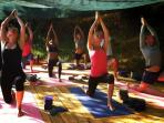 Portugal yoga retreats, yurt accommodation