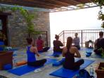 Greece yoga holiday