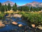 Walking tour in USA, John Muir Trail