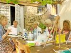Painting holiday in France
